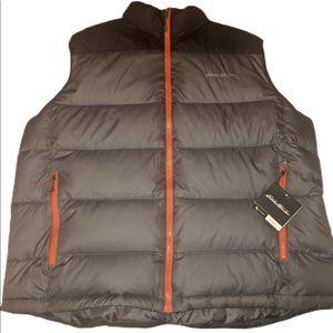 Eddie Bauer Mens Down Filled Vest XL
